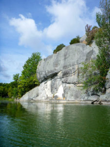 Cliff (Cranberry Lake)